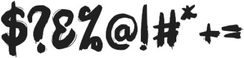 Qunomy otf (400) Font OTHER CHARS