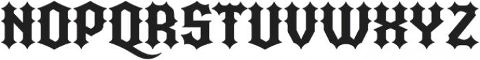 Quorthon Black III otf (900) Font UPPERCASE