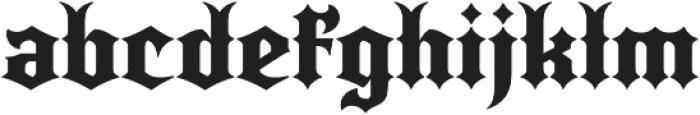 Quorthon Black IV otf (900) Font LOWERCASE