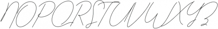 Qurates Signature Two otf (400) Font UPPERCASE