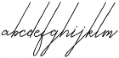 Qurates Signature Two otf (400) Font LOWERCASE