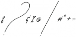 Qurates Signature two alt ttf (400) Font OTHER CHARS