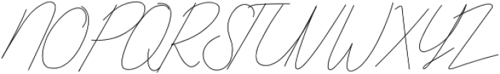 Qurates Signature two alt ttf (400) Font UPPERCASE