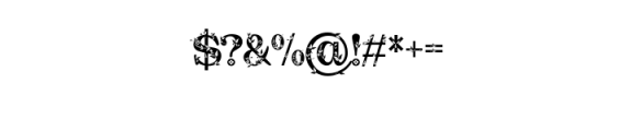 Quality Decor.ttf Font OTHER CHARS