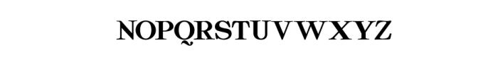 Quality Regular.ttf Font UPPERCASE