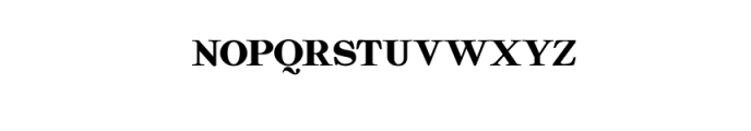 Quality Regular.ttf Font LOWERCASE