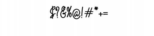 Quality Signature.ttf Font OTHER CHARS