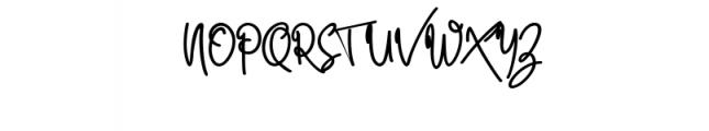 Quality Signature.ttf Font UPPERCASE