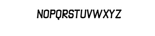 Quamaine-brush.otf Font UPPERCASE