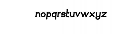Quamaine-brush.otf Font LOWERCASE