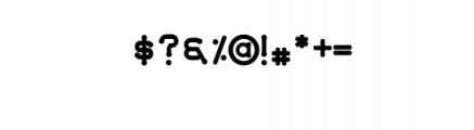 Quamaine.otf Font OTHER CHARS