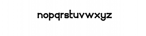 Quamaine.otf Font LOWERCASE