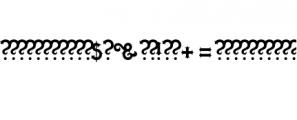 Quasimodo.otf Font OTHER CHARS