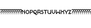 Quasimodo.otf Font UPPERCASE