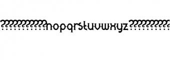 Quasimodo.otf Font LOWERCASE