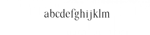 Quffer.ttf Font LOWERCASE