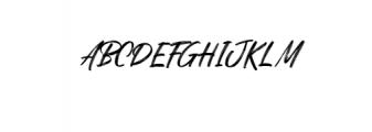 Quizine-Regular.ttf Font UPPERCASE
