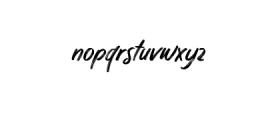 Quizine-Regular.ttf Font LOWERCASE