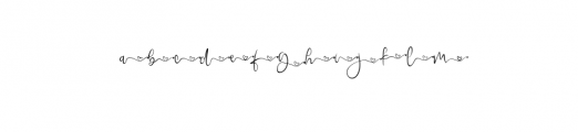 queenbeeswash.ttf Font LOWERCASE