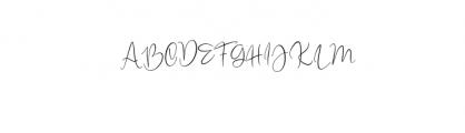 quenbeesalt.ttf Font UPPERCASE