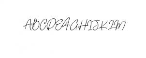 quetzalli.ttf Font UPPERCASE