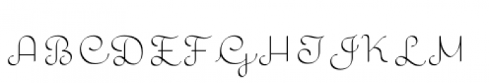 Quaderno Calligraphic Font UPPERCASE