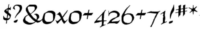 Quahog BB Regular Font OTHER CHARS