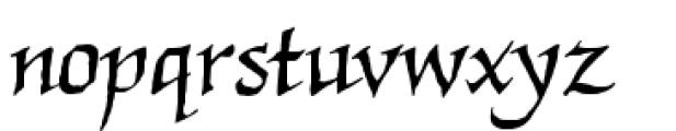 Quahog BB Regular Font LOWERCASE