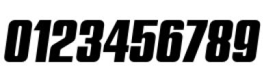 Quandor Oblique Font OTHER CHARS