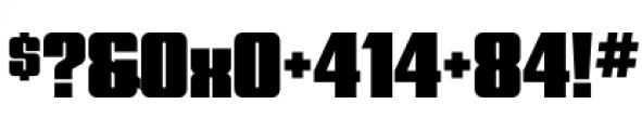Quandor Ultra Font OTHER CHARS