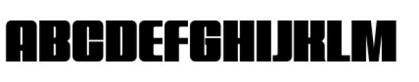 Quandor Ultra Font UPPERCASE