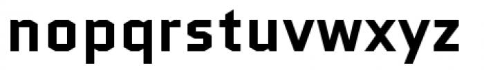 Quantico Bold Font LOWERCASE
