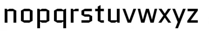 Quantico Regular Font LOWERCASE