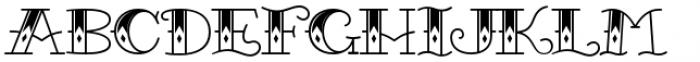 Queen Rosie Font UPPERCASE