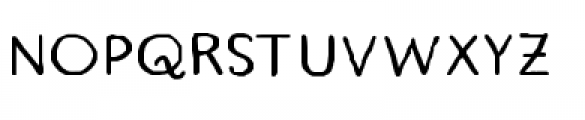 Quimbly Bold Font UPPERCASE