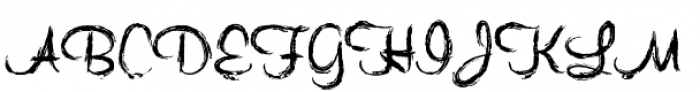 Quince Font UPPERCASE