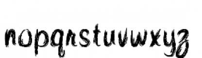 Quince Font LOWERCASE