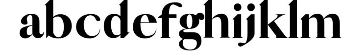 QUEEN, An Elegant Serif Font 1 Font LOWERCASE