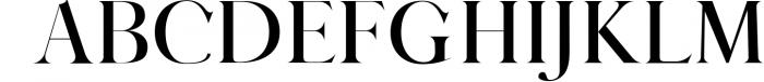 QUEEN, An Elegant Serif Font 2 Font UPPERCASE