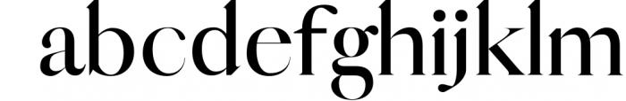 QUEEN, An Elegant Serif Font 2 Font LOWERCASE