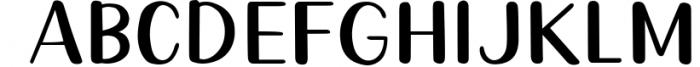 Queenie Serif Font UPPERCASE