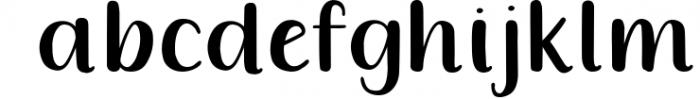 Queenie Serif Font LOWERCASE