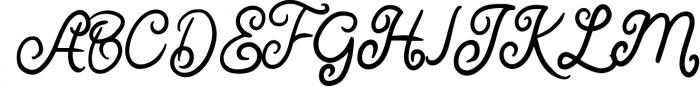 Quenty - Elegant Script Typeface Font UPPERCASE
