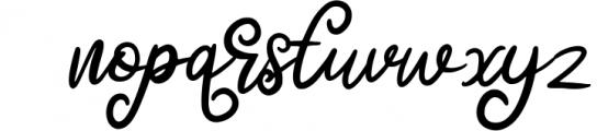 Quenty - Elegant Script Typeface Font LOWERCASE