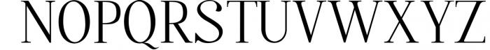 Quffer, serif regular font Font UPPERCASE
