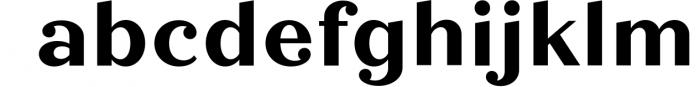 Quiche Font Family 48 Font LOWERCASE