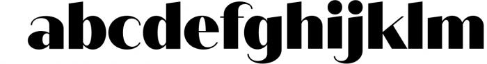 Quiche Sans Font Family 12 Font LOWERCASE