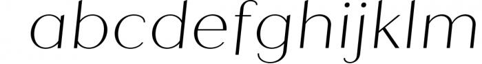 Quiche Sans Font Family 1 Font LOWERCASE
