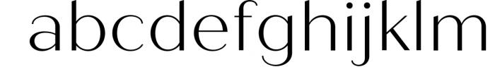 Quiche Sans Font Family 2 Font LOWERCASE