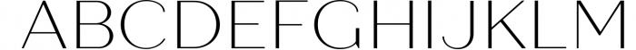 Quiche Sans Font Family Font UPPERCASE
